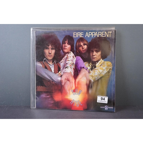 94 - Vinyl - Psych - Eire Apparent - Sunrise (UK 1969,Buddha Records) Produced by Jimi Hendrix vg+