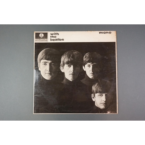 1144 - Vinyl - The Beatles With The Beatles x 2 copies to include PMC 1206, The Parlophone Co Ltd to label ...