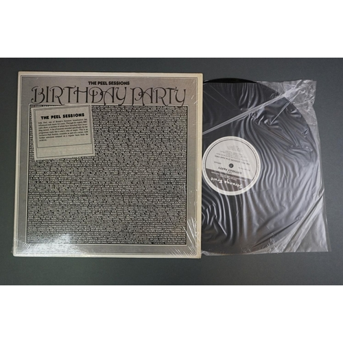 1156 - Vinyl - The Birthday Party 5 LP's to include Self Titled (BAD 307), Junk Yard CAD 207) with lyric in...