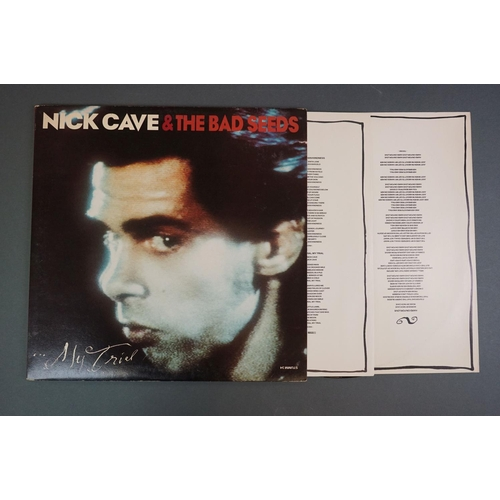 1159 - Vinyl - Nick Cave 8 LP's to include From Her To Eternity, The First Born Is Dead, Kicking Against Th...