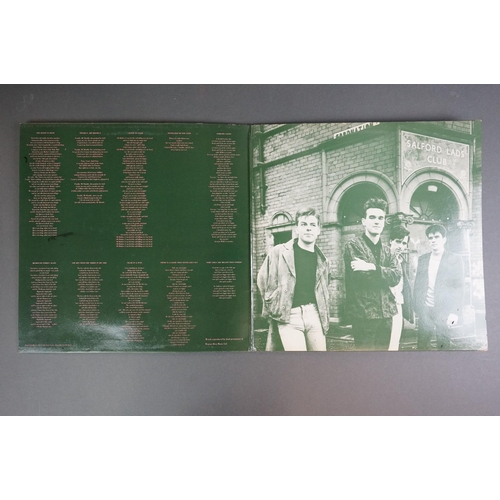 1167 - Vinyl - The Smiths 6 LP's to include The Queen Is Dead x 2 (Rough 96) once copy well played dull and...