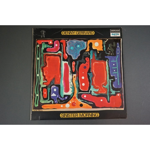 1207 - Vinyl - Denny Gerrard Sinister Morning LP SDN10 on Deram / Nova label shown to sleeve, original inne...