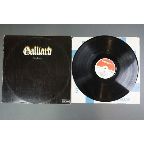 1209 - Vinyl - Galliard New Dawn SML1075 LP with red and white Deram label, small logo, sleeve vg- with cor...