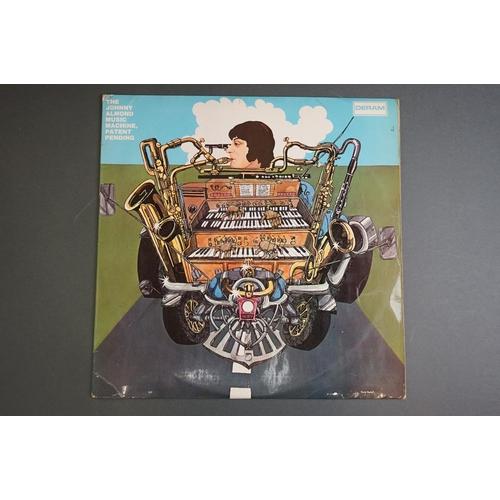 1216 - Vinyl - Johnny Almond Music Machine Patent Pending SML1043 red white Deram label, sleeve and vinyl v...