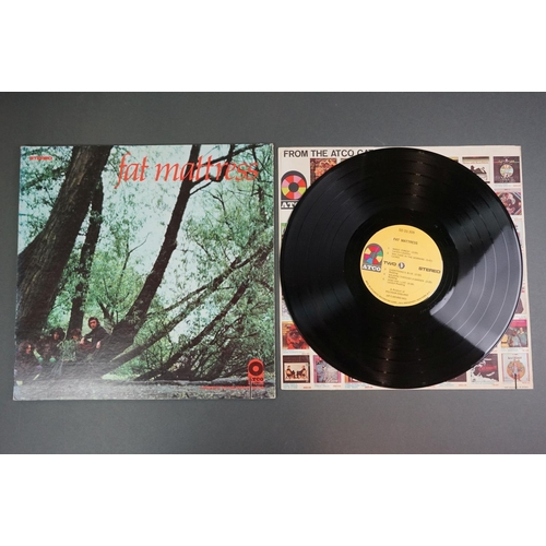 1230 - Vinyl - Two Fat Mattress LPs to include One ATCO SD33309 gatefold sleeve US pressing, ATCO advertisi...