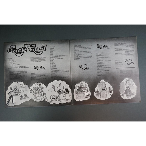 1233 - Vinyl - Gentle Giant Three Friends on Vertigo 6360070 small swirl label, 'made in England' under 197...