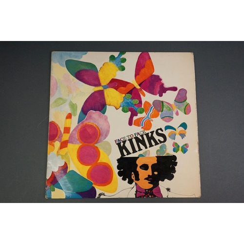 1240 - Vinyl - Kinks Face To Face NPL18149 Pye label, flip back, sleeve & vinyl vg+