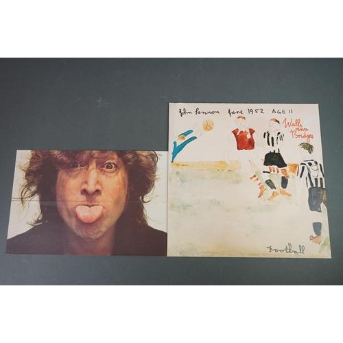 1243 - Vinyl - 10 LPs featuring John Lennon, Julian Lennon and John and Yoko to include from John Lennon Ro...