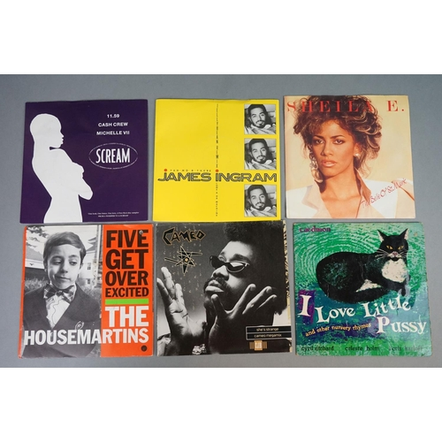 136 - Vinyl - Around 190 80s Pop 7