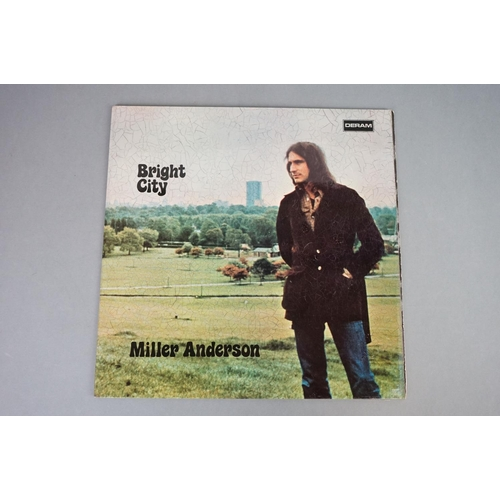 139 - Vinyl - Miller Anderson Bright City (Deram SDL 3) original UK release with gatefold cover and brown ...
