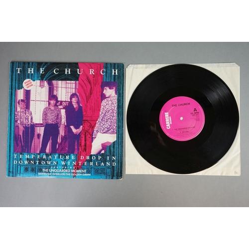 147 - Vinyl - The Church - self titled LP CAL130, Temperature Drop In Down Town Winterland 10