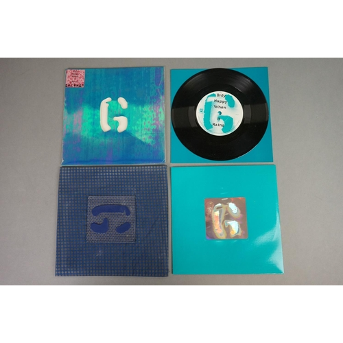 151 - Vinyl - Three Garbage LPs and 2 x 7