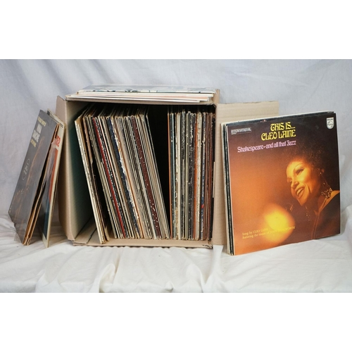 180 - Vinyl - Jazz collection of over 70 LP's to include Charles Mingus, Miles Davis, Dave Brubeck, Colema...
