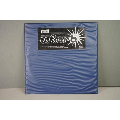 117 - Vinyl - Orb UFORB on Big Life BLBLA18 Double vinyl package with 2 x art prints and free live album, ...