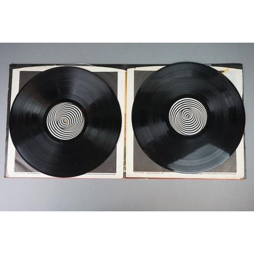 118 - Vinyl - Aphrodite's Child 666 (Vertigo 6673 001) gatefold, Vertigo swirl inners.  Sleeve VG with buf...