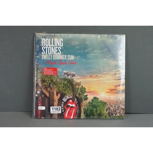 1182 - Vinyl - The Rolling Stones - Sweet Summer Sun Hyde Park Live - 3 x vinyl LP (5 034504 907997), New &...