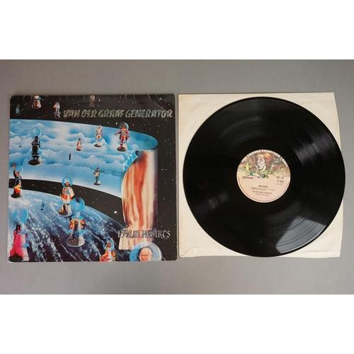 1185 - Vinyl - Six Van Der Graaf vinyl LP's to include Vital (Charisma Records CVLD 101), Still Life (Chari...