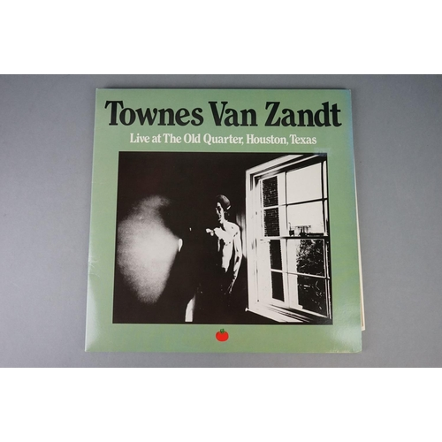 1189 - Vinyl - Four Townes Van Zandt vinyl LP's to include Our Mother The Mountain (Decal Records DECAL UK ...
