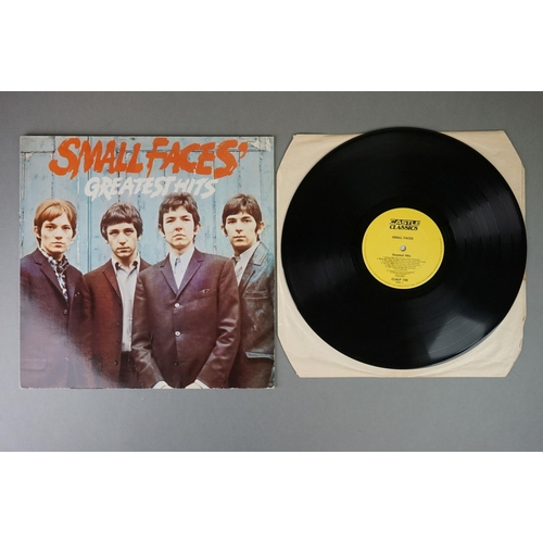1190 - Vinyl - Five The Small Faces vinyl LP's to include Ogden's Special Nut Gone Flake Tobacco (Immediate...
