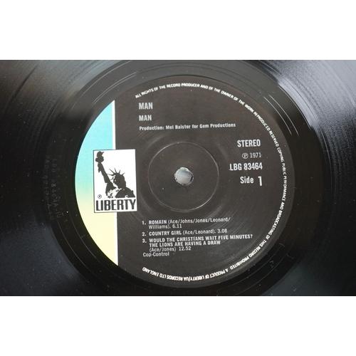 1191 - Vinyl - Five Man vinyl LP's to include Man (Liberty Records LBG 83464), Twice (Pye Records 86050 XBT...