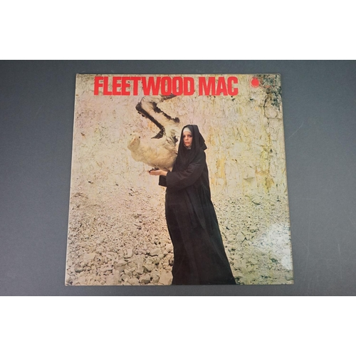 1244 - Vinyl - Fleetwood Mac The Pious Bird of Good Omen on Blue Horizon ST63215 stereo sticker to rear of ...