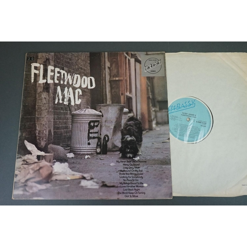 1246 - Vinyl - 10 Fleetwood Mac LPs to include self titled on Embassy EMB31036, Tango In The Night, Then Pl...