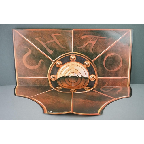 125 - Vinyl - Hawkwind Warrior On The Edge Of Time (UAG 29766) complete with inner, gatefold intact.  Slee...