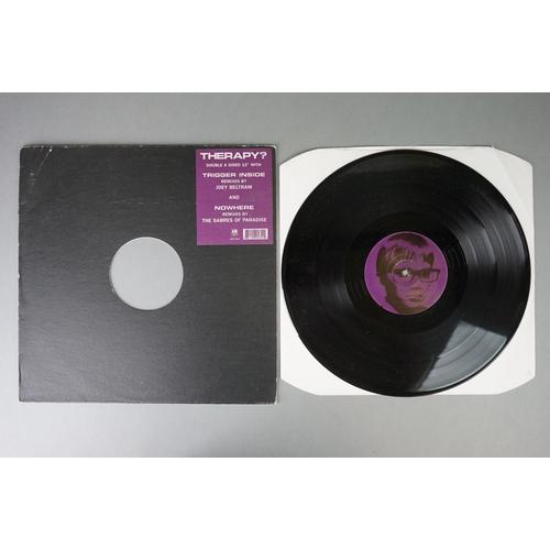166 - Vinyl - Therapy? - Trigger Inside Remixes 12 2 single plus 5 x 7