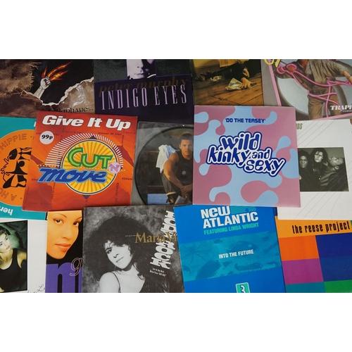 182 - Vinyl - Approx 200 vinyl 7