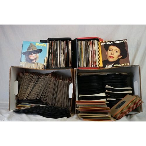 186 - Vinyl - Approx 350 vinyl 7