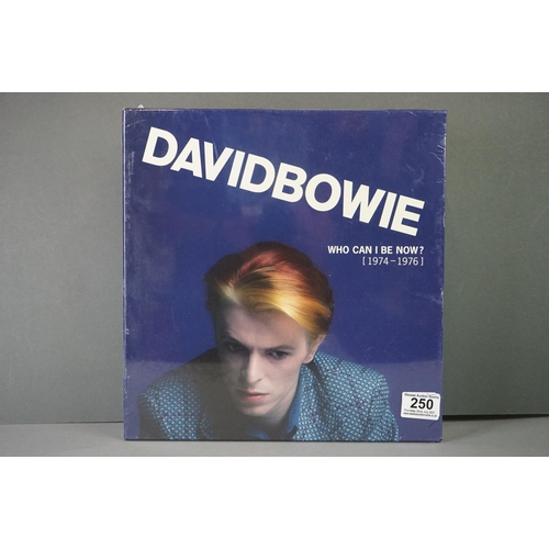 250 - Vinyl - David Bowie Who Can I Be Now? (1974-1976) 9 LP Box Set DBXL2, sealed