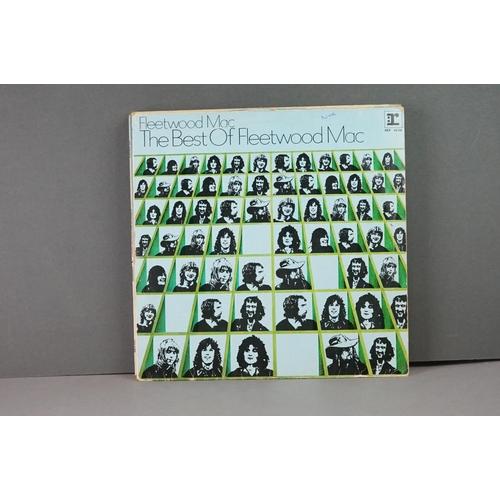 382 - Vinyl - Twelve Fleetwood Mac vinyl LP's to include Greatest Hits (Warner Bros Records WX 221), Tusk ...