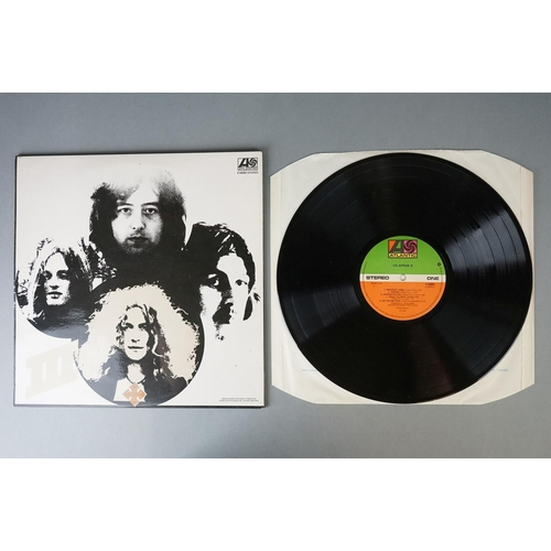 401 - Vinyl - Led Zeppelin 4 LP's to include Two (K 40037) Killing Floor to label, Lemon Song to sleeve, T...