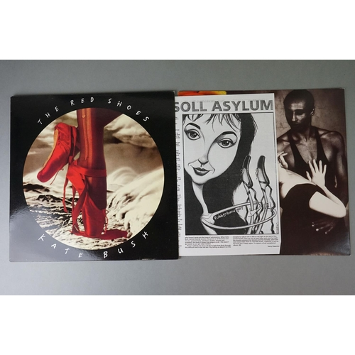 98 - Vinyl - Kate Bush The Red Shoes LP EMD1047 with lyric inner, sleeve and vinyl ex