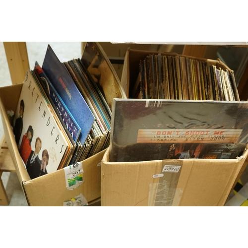 207 - Vinyl - Approx 80 vinyl LP's and 12