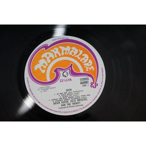 284 - Vinyl - Julie Driscoll Open on Marmalade 608002, sleeve and vinyl vg+