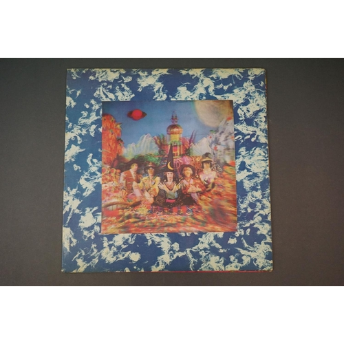 285 - Vinyl - The Rolling Stones Their Satanic Majesties Request TXS103, Decca unboxed green stereo label,...