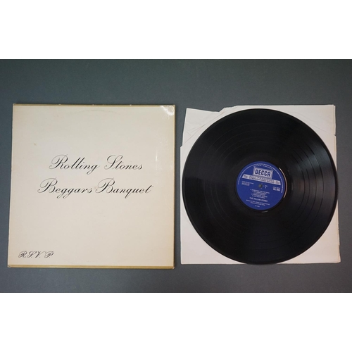 286 - Vinyl - Rolling Stones 3 LP's to include Rolled Gold and Self Titled (both Dutch pressings), and Beg...