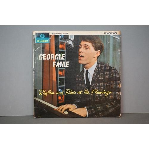 288 - Vinyl - Georgie Fame Rhythm And Blues At The Flamingo (Columbia 33 SX 1599).  Sleeve & Vinyl VG-