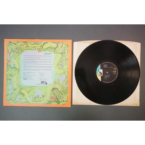 291 - Vinyl - Hawkwind Self Titled (Liberty LBS 83348).  Liberty black label.  Sleeve & Vinyl VG-