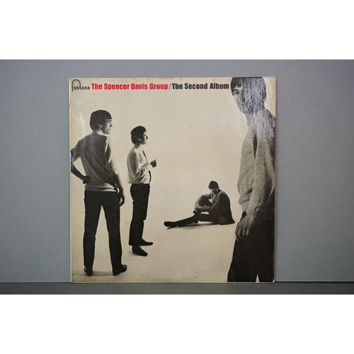 294 - Vinyl - Spencer Davis Group The Second Album on Fontana TL5295, sleeve laminate to front, an Island ...