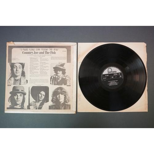 301 - Vinyl - Country Joe and The Fish, I Feel Like I'm Fixin' To Die, Fontana STFL 6087, flip back sleeve...