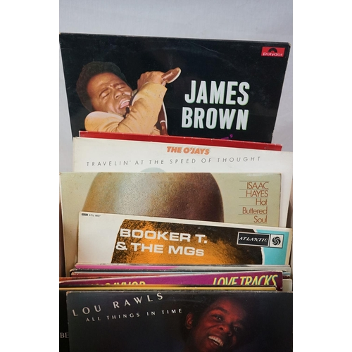 303 - Vinyl - Disco / Soul, a collection of approx. 55 LPs, to include Barry White, George Benson, Emotion...