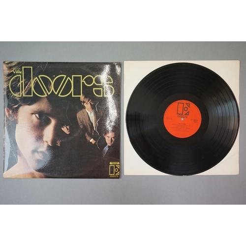 304 - Vinyl - The Doors, self titled (EKS 7400T) orange and black Elektra label with Polydor Records Ltd c...