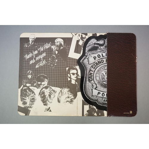 305 - Vinyl - The Police, Can't Stand Losing You / Roxanne 'Police Badge' picture disc in cardboard wallet...