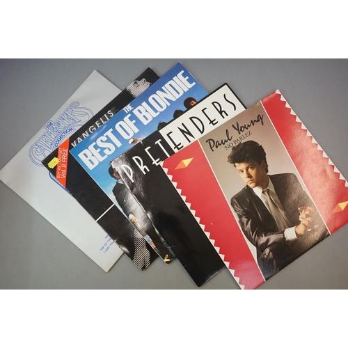 312 - Vinyl - Rock & Pop collection of approx 25 LP's plus 7