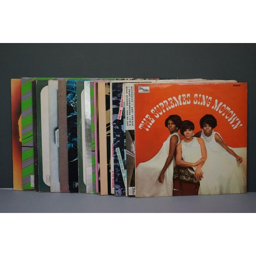 320 - Vinyl - Tamla Motown, a selection of 19 LPs to include The Supremes, Junior Walker, The Impressions,...
