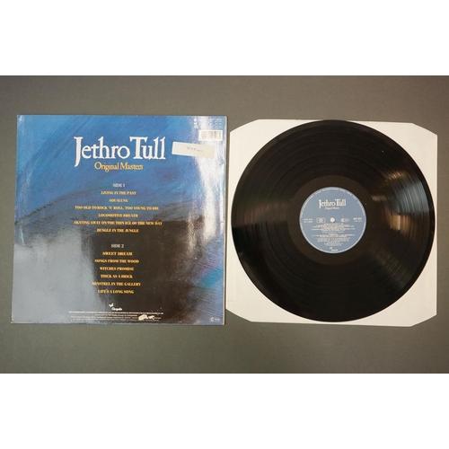 324 - Vinyl - Jethro Tull 4 LP's to include A Passion Play (CHR 1040) matrices A4U / B4U with matt gatefol...