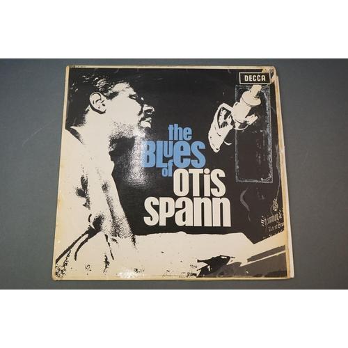 328 - Vinyl - Otis Spann The Blues Of Otis Spann (Decca LK 4615) sleeve has a number of tape repairs with ...