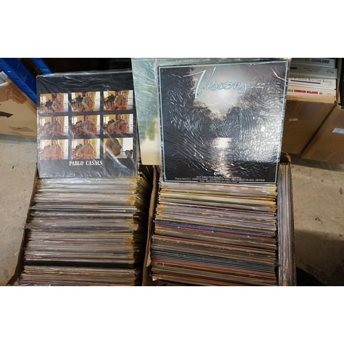 381 - Vinyl - Around 200 LPs featuring Country and other genres, sleeves and vinyl vg+ (two boxes)